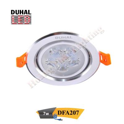 Đèn Led âm trần chiếu điểm 7W DFA207 Duhal