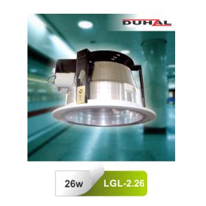 Đèn downlight âm trần Duhal LGL 2.26 lắp ngang