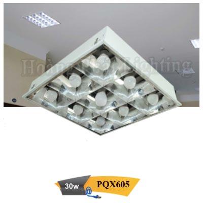Máng đèn Led âm trần 0M6 30W PQX605 Duhal