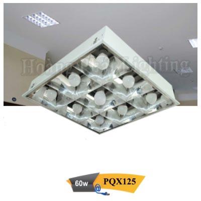 Máng đèn Led âm trần 60W 1M2 PQX125 Duhal