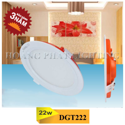 Đèn Led âm trần 22W DGT222 Duhal