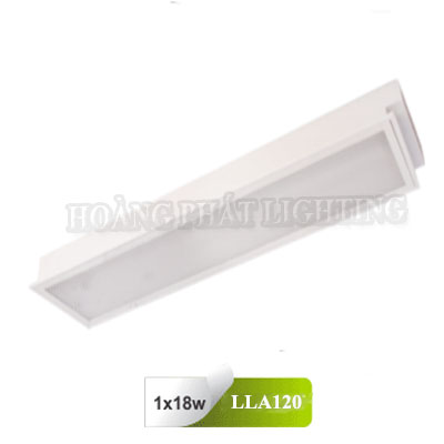 Máng đèn âm trần Mica T8 0M6 1x18W LLA120 Duhal