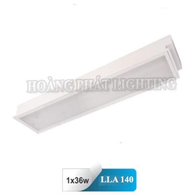 Máng đèn âm trần Mica T8 1m2 1x36W LLA140 Duhal