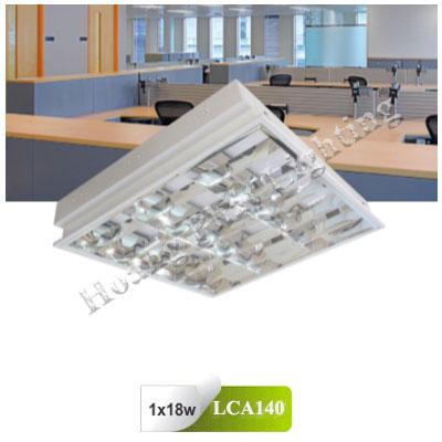 Máng đèn Led âm trần T8 1m2 1x18W LCA140 Duhal