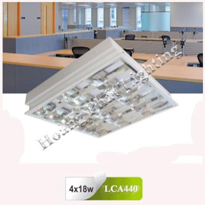 Máng đèn led âm trần T8 1m2 4X18W LCA440 Duhal