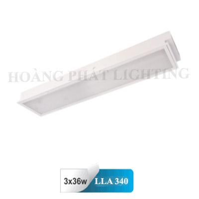 Máng đèn âm trần Mica T8 1m2 3X36W LLA340 Duhal