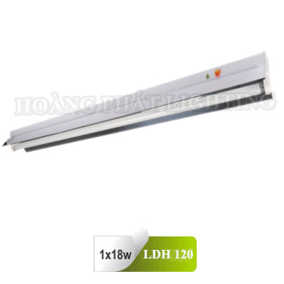 Máng đèn công nghiệp chóa phản quang T8 0m6 1X18W LDH120 Duhal