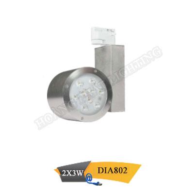 Đèn Led thanh ray 2x3W DIA802 Duhal