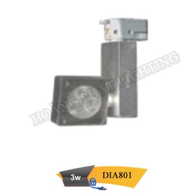 Đèn Led thanh ray 3W DIA801 Duhal
