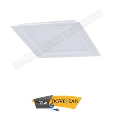 Đèn led gắn nổi vuông 12W DGV012AN Duhal