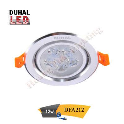 Đèn Led âm trần chiếu điểm 12 DFA212 Duhal