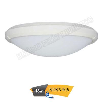 Đèn led ốp trần chống thấm 18W SDSN406 Duhal