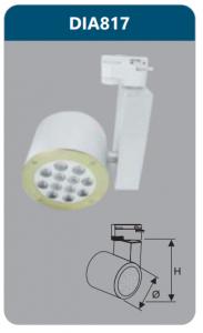 Đèn Led thanh ray 12W DIA817 Duhal