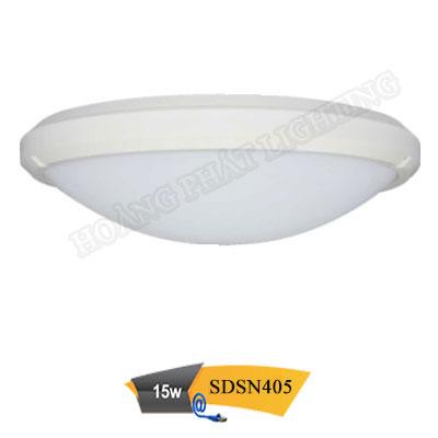 Đèn led ốp trần chống thấm 15W SDSN405 Duhal