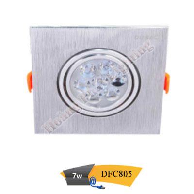 Đèn led âm trần chiếu điểm 7W DFC805 Duhal