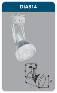 Đèn Led thanh ray 5W DIA814 Duhal
