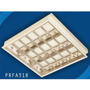 Máng đèn huỳnh quang âm trần Paragon PRFA318 3 bóng 0m6 18W