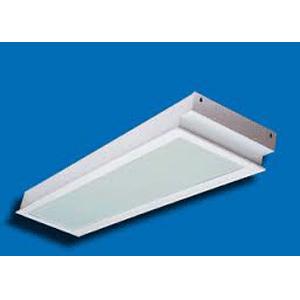 Máng đèn huỳnh quang Paragon PRFG236 - Máng âm trần mặt Prismatic