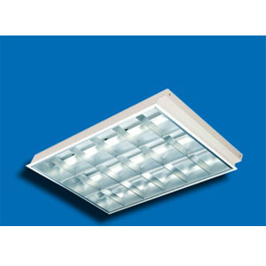 Máng đèn huỳnh quang Paragon PRFL 236 - Máng âm trần 2x36W