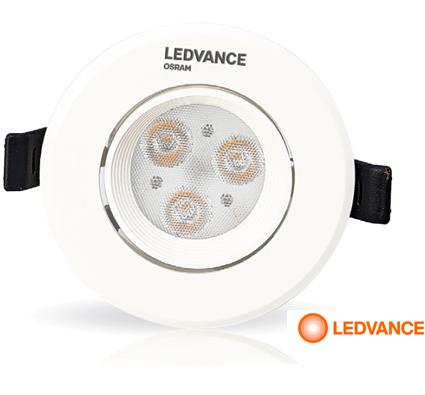 Đèn led chiếu điểm SPOT LED AD 3W LEDVANCE