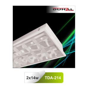 Máng đèn huỳnh quang Duhal TDA214 - Máng âm trần T5 14W