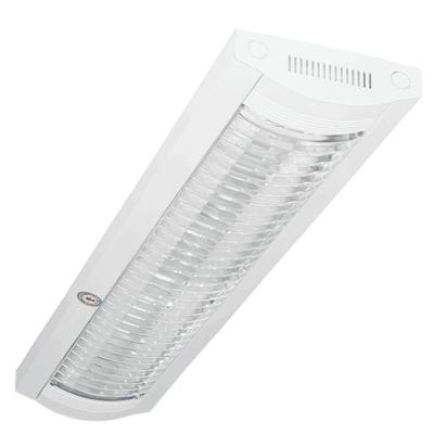 Bộ máng đèn lắp nổi 2x10W/10L PCFB218 Paragon