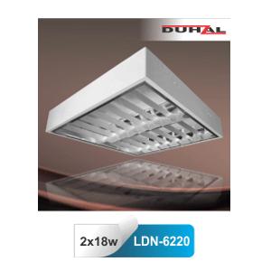 Máng đèn huỳnh quang lắp nổi Duhal LDN6220 0m6