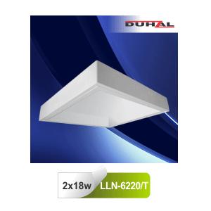 Máng đèn huỳnh quang Duhal LLN6220/T - Máng gắn nổi tán quang