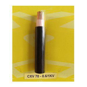 Dây cáp điện Cadivi CXV-70-0.6/1kV Cu/XLPE/PVC