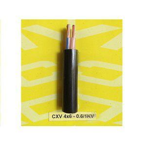 Dây cáp điện Cadivi CXV-4x6-0.6/1kV Cu/XLPE/PVC