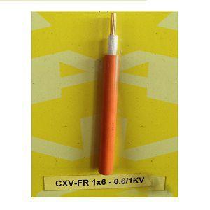 Dây cáp điện Cadivi CXV/FR-1x6- 0.6/1kV chống cháy