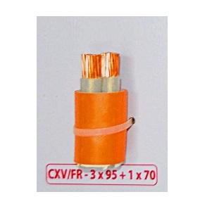 Dây cáp điện Cadivi CXV/FR-3x95v1x70-0.6/1Kv Cu/XLPE-FR/PVC chống cháy