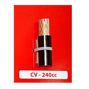 Dây cáp điện Cadivi CV 240cc -750V Cu/PVC