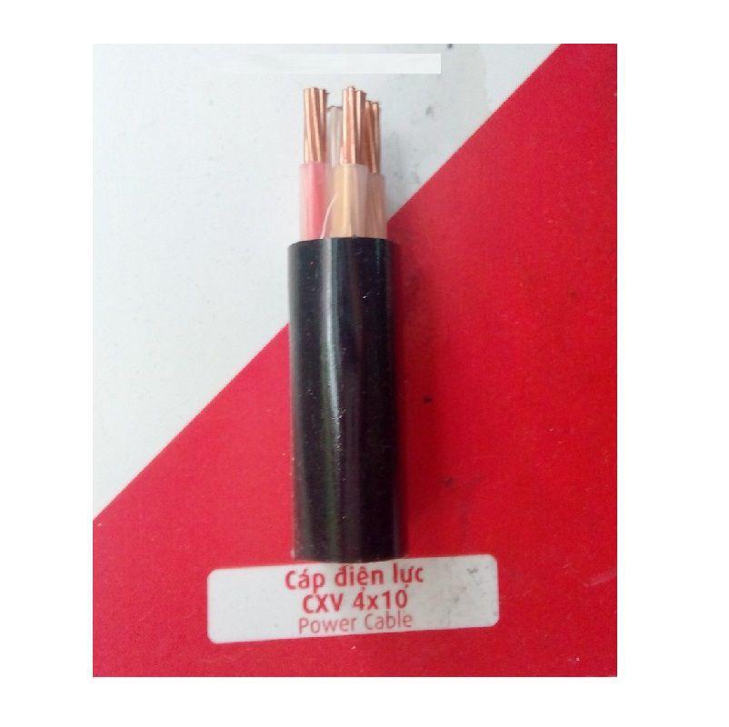 Dây cáp điện Cadivi CXV-4x10mm2-0.6.1kV