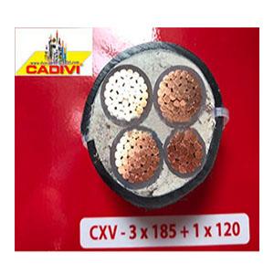 Dây cáp điện CXV 3x185v1x120 Cadivi