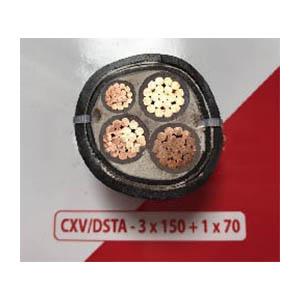 Cáp điện ngầm CXV/DSTA 3x150v1x70 Cadivi