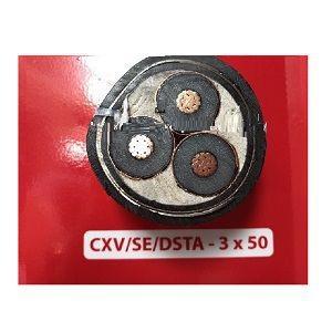 Cáp trung thế CXV/SE/DSTA 3x50 Cadivi
