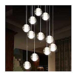 Đèn thả chùm pha lê TE-170/10 HPLIGHT