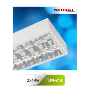 Máng đèn huỳnh quang T5 Duhal TDN214 2x14W lắp nổi