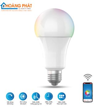 Đèn led bulb cảm ứng A60 RGBW/9W.WF Rạng Đông