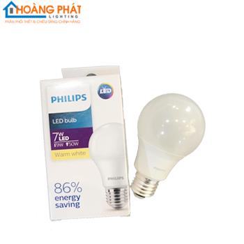 Bóng đèn LED Bulb 7W E27 HV 1PF/20 GMGC Philips