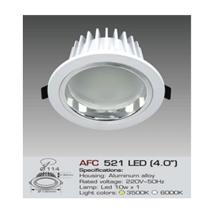 Đèn led Downlight Anfaco AFC 521 LED