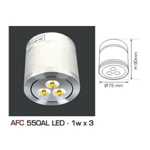 Đèn led Downlight lắp nổi Anfaco AFC550AL LED