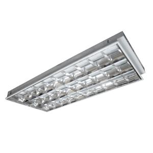 Máng đèn huỳnh quang Rạng Đông FS40/36x3 M6- Máng âm trần 1m2 3 bóng