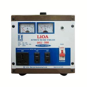 Ổn áp Lioa DRII-2000 2KVA 50V-250V 1 pha