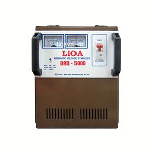 Ổn áp Lioa DRII-5000 5kVA 50 – 250V 1 pha
