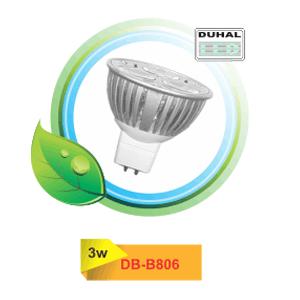 Bóng đèn Led Duhal DB-B806 3W