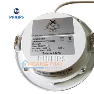 Đèn led downlight Philips DN024B 11W D125