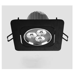 Đèn Led Anfaco đen AFC 760/1 LED