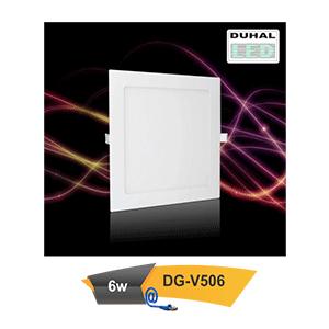 Đèn Led downlight âm trần Duhal DG-V506 6W